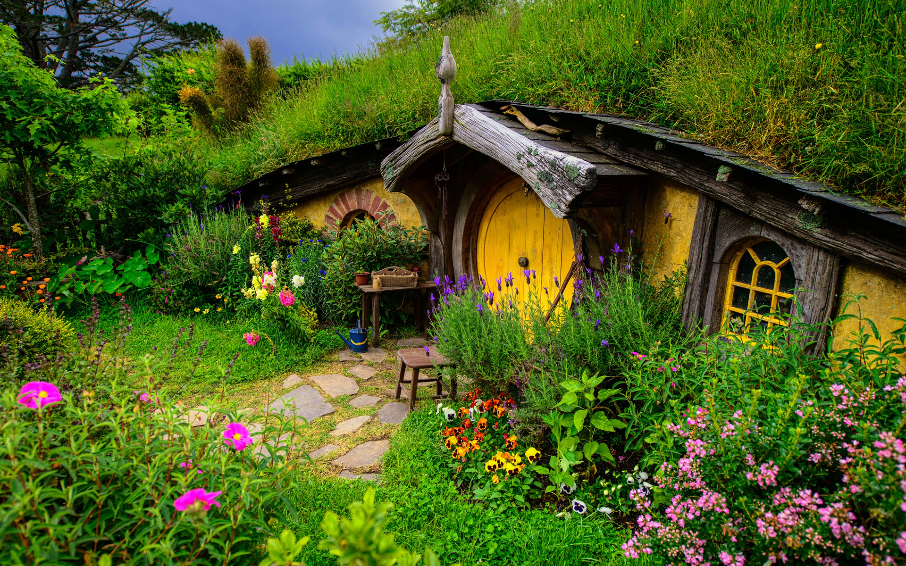 maison de hobbit nouvelle z lande ymb you man being